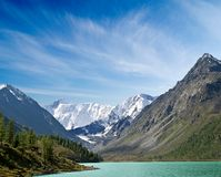 Great Mountains Landscape Stock Image
