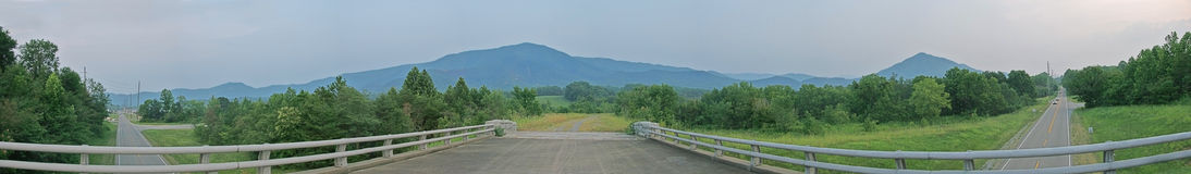 great mountains smoky views στοκ φωτογραφία