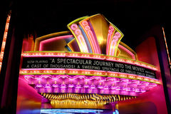 Great movie Ride Movie Marquee Royalty Free Stock Images