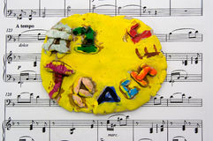 Great Music Teacher Royalty Free Stock Photos