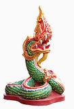 Great Naga. Animals in low orbit Related to Buddhism Royalty Free Stock Photo
