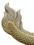 Great Naga tail statue Royalty Free Stock Photo