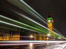 Night of Bigben Stock Photo