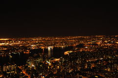 A great night in New York Stock Images