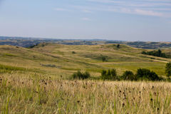 Great North Dakota Hilly Plains Royalty Free Stock Image