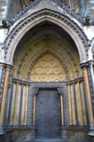 Great North Door Westminster Abbey Stock Image