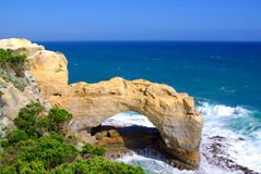 Great Ocean Arch. Photo taken of The Arch on the Great Ocean Road (Victoria, Australia royalty free stock photography