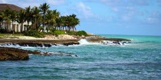 Great ocean colors Caribbean beach Stock Photography