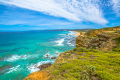 Aireys Inlet lookout Royalty Free Stock Photography