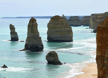 Great Ocean Road. 12 apostles. Stock Photo