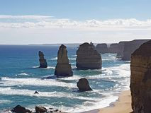 Great ocean road Australia royalty free stock image