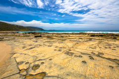 Great Ocean Road: Cathedral Rock Royalty Free Stock Photo