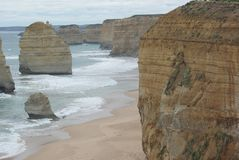 Great ocean road drive royalty free stock photography