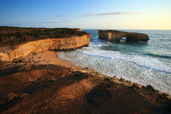 Great Ocean Road London Bridge Royalty Free Stock Photos