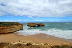 The great ocean road in Melbourne,Australia Stock Images