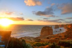 The great ocean road in Melbourne,Australia Royalty Free Stock Photography