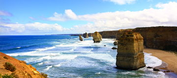 Great Ocean Road, Port Campbell National Park, Victoria, Australia Stock Photo