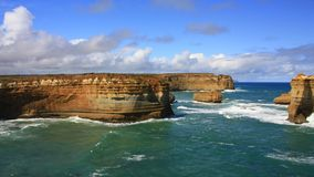 Great Ocean Road, Port Campbell National Park, Victoria, Australia Royalty Free Stock Photography