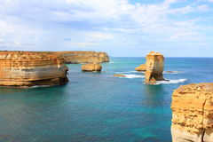 Great ocean road seascape Royalty Free Stock Photo