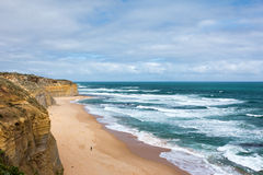 The Great Ocean Road. Great Ocean Road on Sunny Day Royalty Free Stock Photography