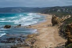 Great Ocean Road 5. Travel along the Great Ocean Road in Victoria Australia Stock Images