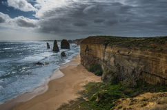 Great Ocean Road 12. Travel along the Great Ocean Road in Victoria Australia Stock Image