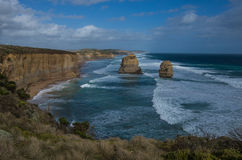 Great Ocean Road 16. Travel along the Great Ocean Road in Victoria Australia Royalty Free Stock Images