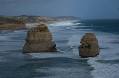 Great Ocean Road. Travel along the Great Ocean Road in Victoria Australia Royalty Free Stock Images