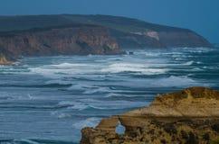 Great Ocean Road. Travel along the Great Ocean Road in Victoria Australia Stock Images