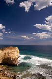 Great ocean road and the twelve apostles Melbourne. Great Ocean Road with a view of twelve apostles in Australia Royalty Free Stock Images