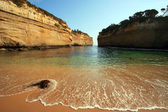 Great Ocean Road. In Victoria Australia Stock Photography