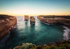 Great Ocean Road Victoria Australia Island Arch Royalty Free Stock Photography
