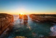 Great Ocean Road Victoria Australia Island Arch Stock Photography