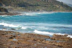 The Great Ocean Road, Victoria, Australia. The lookout along the Great Ocean Road, Victoria, Australia Royalty Free Stock Photos