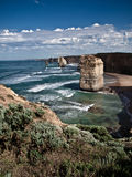 The Great Ocean Road View Stock Image