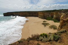 The Great ocean road view Royalty Free Stock Photos