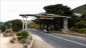 Great Ocean Road stock video footage
