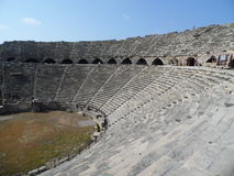 Great old amphitheatre . Stock Photos