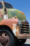 Great old truck front end Stock Photo
