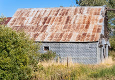 Great old weathered barn Stock Photography