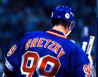 The Great One. Wayne Gretzky, New York Rangers