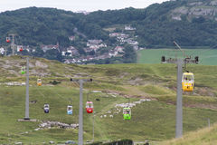 Great Orme Cable Cars Stock Photos