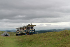 Great Orme Tramway. August 2016 Royalty Free Stock Photo