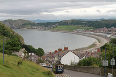 Great Orme Tramway. August 2016 Royalty Free Stock Photos