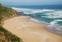 Great Otway National Park along the Great Ocean Road, Australia Royalty Free Stock Image
