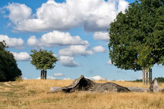 The Great Outdoors - open countryside, UK. Stock Photography