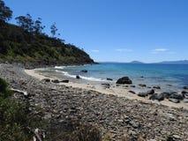 Great Oyster Bay, Triabunna, Tasmania Stock Photo