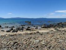 Great Oyster Bay, Triabunna, Tasmania Royalty Free Stock Photography