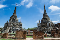 Great Pagoda. In Ayutthaya Historical Park,Thailand.Public place Stock Image
