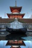 Great Pagoda (Daito) at Narita-san Temple, Japan stock images